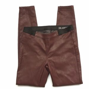 BLANKNYC Vegan Pull on leggings
